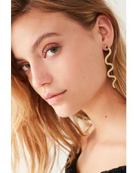 Urban Outfitters - Snake Statement Earring - Lyst