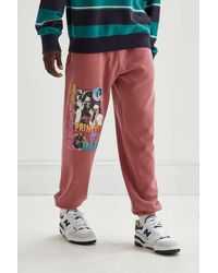 Urban Outfitters Aaliyah Graphic Sweatpant - Red