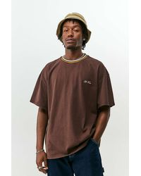 iets frans... Brown Tipped Ringer T-shirt