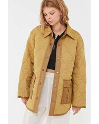 premium selection afa5d acea2 Uo Lita Quilted Shirt Jacket - Multicolour