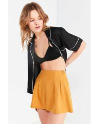 Urban Outfitters - Uo Utopia Pleated Short - Lyst