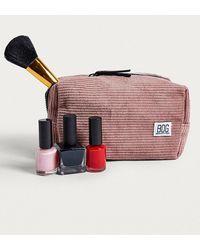 BDG - Pink Corduroy Make-up Bag - Lyst