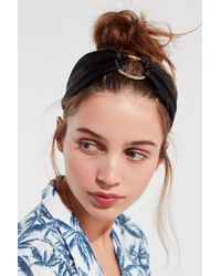 Urban Outfitters - Silk Metal Ring Headwrap - Lyst