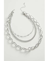 Urban Outfitters - Statement Toggle Layering Necklace - Lyst