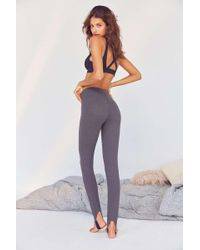 Out From Under Big Spoon Stirrup Leggings - Black