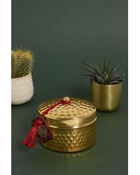 Urban Outfitters Metal Tin Assorted Candle - Green