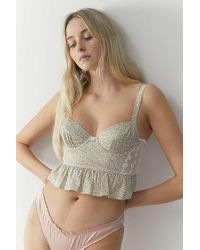 Out From Under Lennon Corset Top - Multicolour