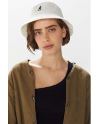 Kangol Bermuda Bucket Hat - White
