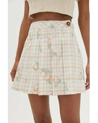 Urban Outfitters Uo Alicia Kilt Skirt - Multicolor