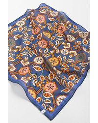 Urban Outfitters Floral Print Bandana - Blue