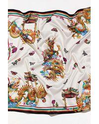 Urban Outfitters Dragon Bandana - Multicolour