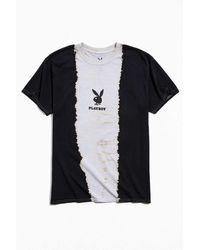 Urban Outfitters Playboy Tie-dye Logo Tee - Black