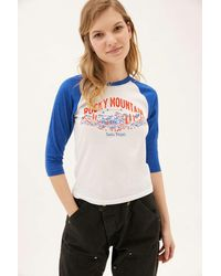 Parks Project Rocky Mountain Baseball Tee - White