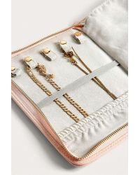 Estella Bartlett Treasure Me Blush Pink Jewellery Travel Case