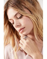 Urban Outfitters - X Marks The Spot Ring - Lyst