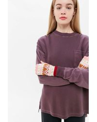Urban Outfitters Uo Fair Isle Fingerless Glove - Red