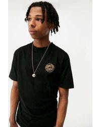 Santa Cruz Uo Exclusive Black Toxic Hand T-shirt