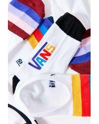 Vans Vans Classic Canoodle Striped No-show Liner Sock 3-pack - Multicolour
