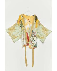 Urban Outfitters Willow Patchwork Robe - Multicolor