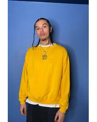 Urban Outfitters - Uo Yellow Nebraska Sweatshirt - Lyst