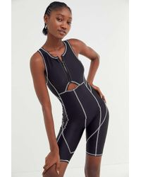 Out From Under - Roux Seamed Racerback Romper - Lyst