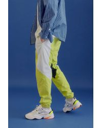 9f8d3624fa0d5 PUMA Fenty By Rihanna Blocked Taped Track Pant in Green for Men - Lyst