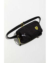 PUMA Puma Ferrari Fanwear Sling Bag - Black