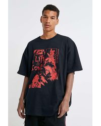 Urban Outfitters Uo Life And Soul T-shirt - Multicolour