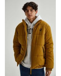 iets frans... Puffer Jacket - Yellow