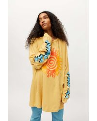 Urban Outfitters Anderson. Paak Long Sleeve Tee - Yellow