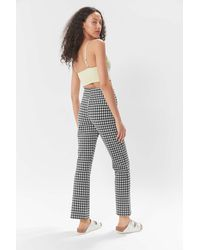 Urban Outfitters Uo Cara High-waisted Kick Flare Pant - Multicolor