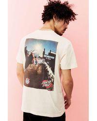 Santa Cruz Uo Exclusive Dressen Razor T-shirt - Multicolour