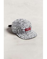 Urban Outfitters Keith Haring Allover Print Hat - Multicolour