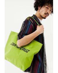 Santa Cruz Green Logo Tote Bag