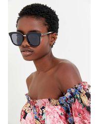 Urban Outfitters Abigail Combination Square Sunglasses - Multicolor