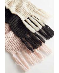 Urban Outfitters - Crochet Knit Scarf - Lyst