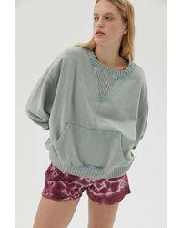 BDG Wynn Slouchy Sweatshirt - Blue