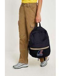 K-Way Black Packable Backpack