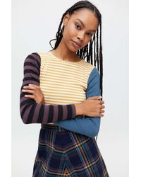 Truly Madly Deeply Frances Striped Tee - Blue