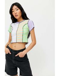 The Ragged Priest Together Patchwork Tee - Multicolour