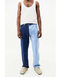 The Ragged Priest Light Blue Mid-wash Dual Jeans