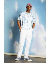 Urban Renewal Salvaged Deadstock White Cargo Trousers