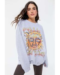 Urban Outfitters Sublime Sun Oversized Crew Neck Sweatshirt - Multicolor