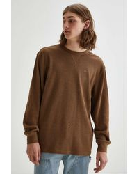 Katin Therman Thermal Long Sleeve Tee - Brown