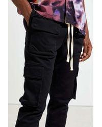 Standard Cloth Jayden Skinny Cargo Pant - Black