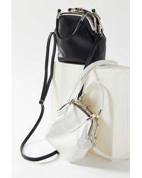 Urban Outfitters Sammi Double Kiss Lock Crossbody Bag - Multicolour