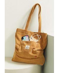 BDG Classic Corduroy Tote Bag - Brown