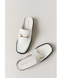 INTENTIONALLY ______ Kowloon Loafer Mule - White