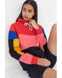 Urban Outfitters - Uo Rosa Colourblock Turtleneck Sweatshirt - Lyst