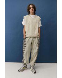 iets frans... Stone Cable Knit Vest - Natural